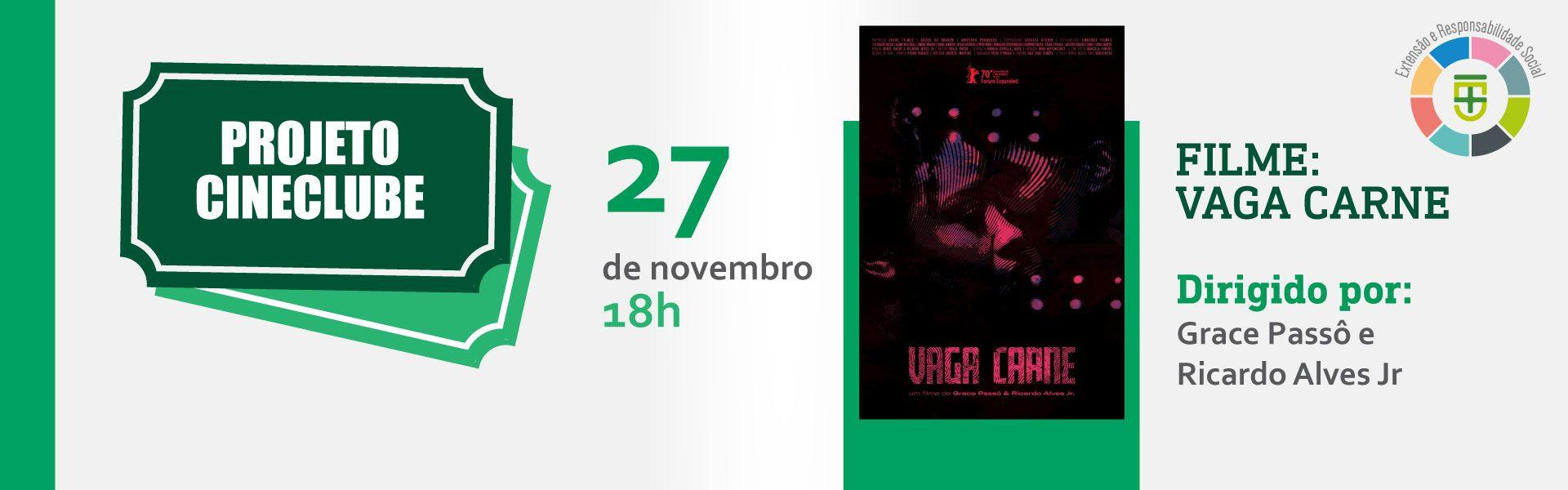 cineclube novembro