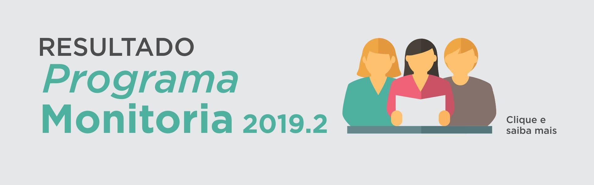 result monitoria 20192