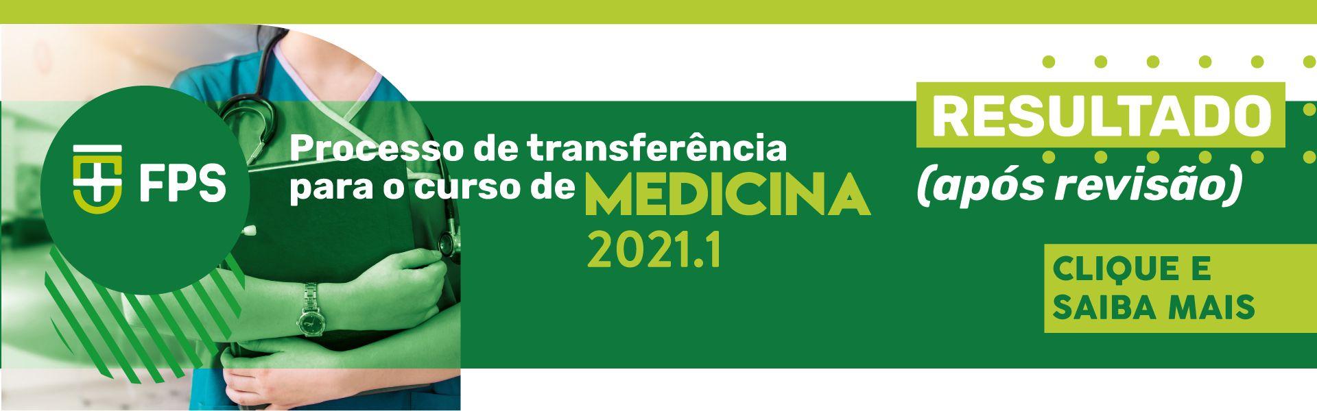 transferência medicina resultado