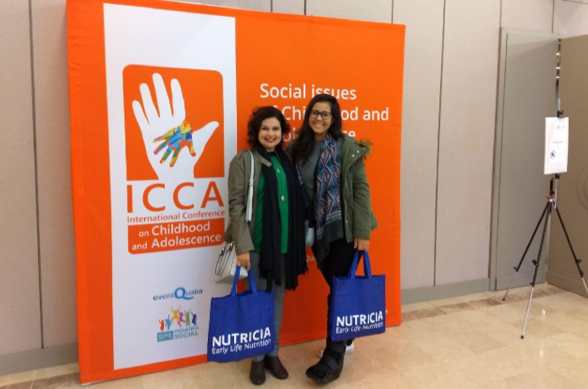 Estudante e docente de Psicologia apresentam trabalhos em Portugal
