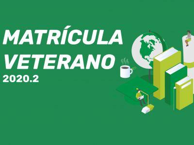 Matrícula Veterano 2020.2