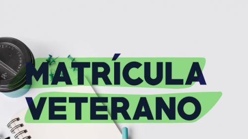 Matrícula 2019.1 - Estudantes veteranos
