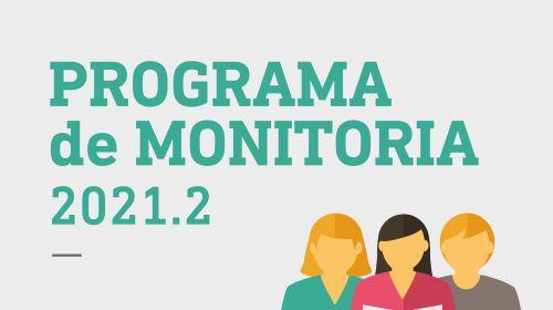 Programa de Monitoria 2021.2 - Resultado