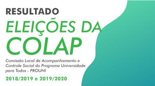 Eleições da COLAP - 2018/2019-2019/2020 - Resultado