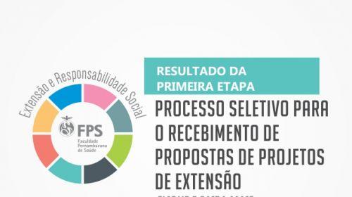 Processo seletivo de projetos de extensão - Resultado da 1ª etapa