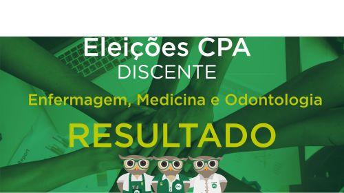 Eleições CPA - Discentes - Resultado