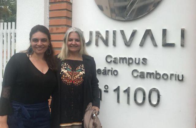Estudantes de Psicologia apresentam trabalho em Santa Catarina