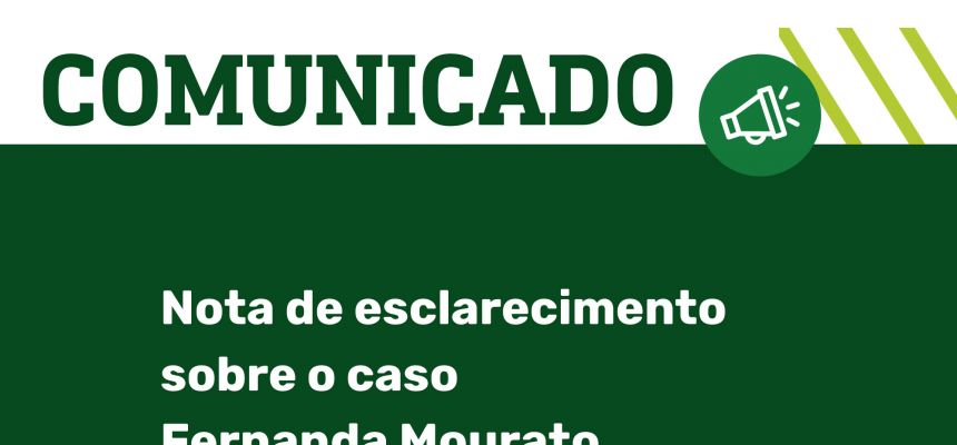 Nota de esclarecimento da Faculdade Pernambucana de Saúde sobre o caso Fernanda Mourato