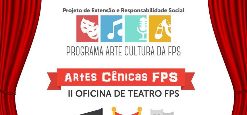 Programa de Extensão Arte e Cultura - II Oficina de Teatro