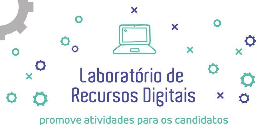 Laboratório de Recursos Digitais promove atividades para os candidatos dos programas de iniciação científica