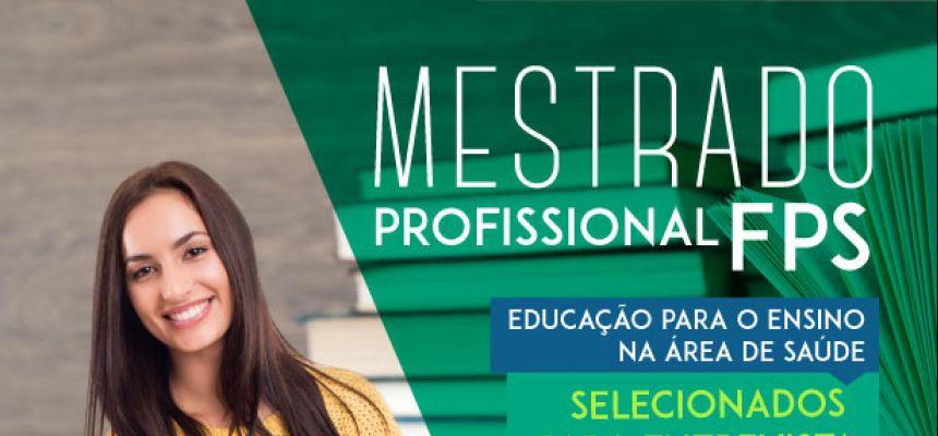 Mestrado em Educação - selecionados para entrevista