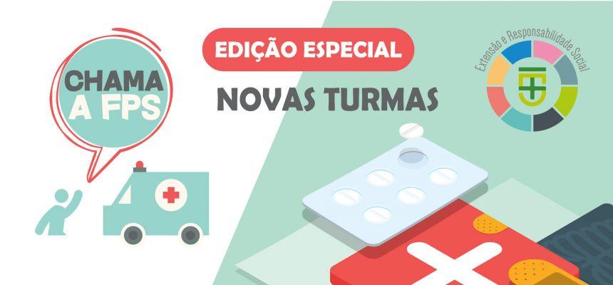 PROJETO DE EXTENSÃO CHAMA A FPS - NOVAS TURMAS
