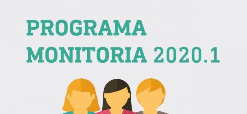 Programa de Monitoria 2020.1 - Resultado