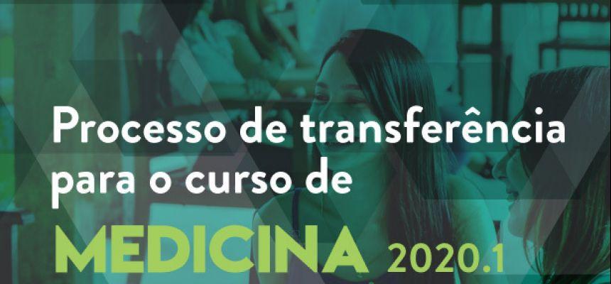 Processo de Transferência de Medicina 2020.1 - resultado