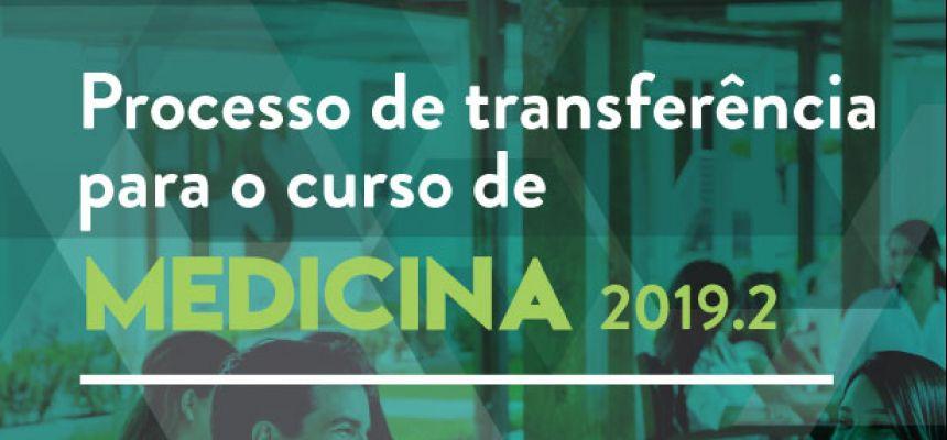 Processo de Transferência de Medicina 2019.2