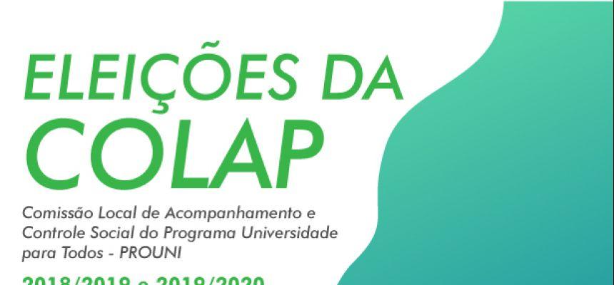 Eleições da COLAP - 2018/2019-2019/2020 - votação