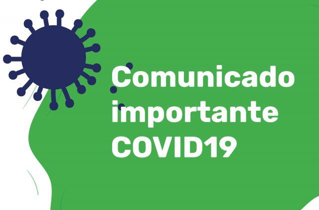 Comunicado Importante - COVID19