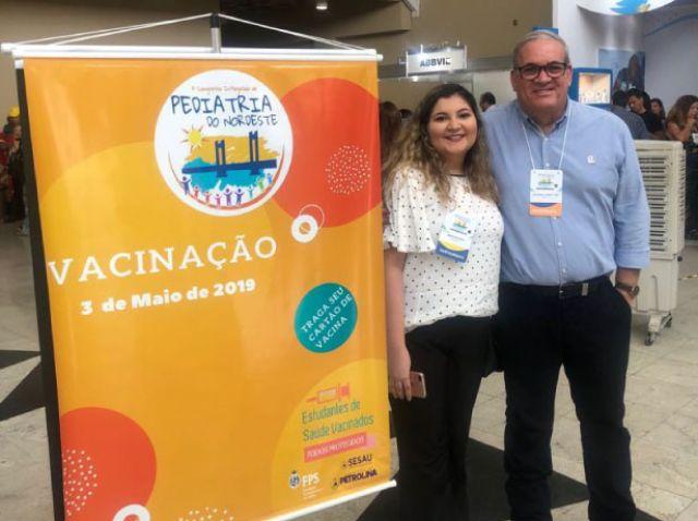 Tutor de Medicina leva Projeto de Extensão a Congresso de Pediatria