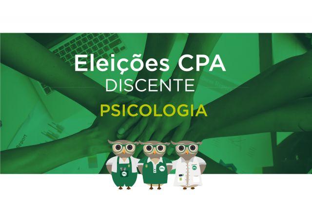 Eleições CPA - Discente Psicologia - Resultado
