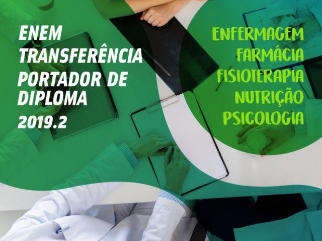 PROCESSOS DE INGRESSO EXTRAVESTIBULAR 2019.2