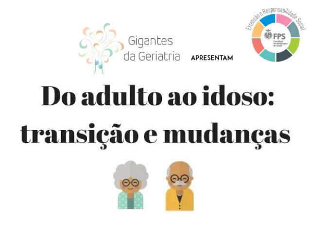 FPS promove evento sobre saúde do idoso