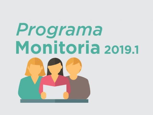Programa de Monitoria 2019.1