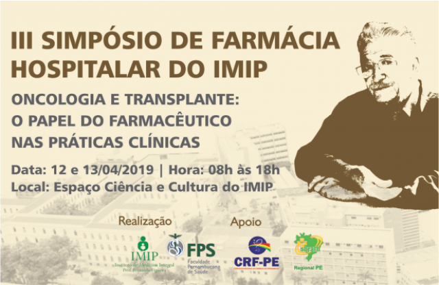 Simpósio de Farmácia Hospitalar - III edição