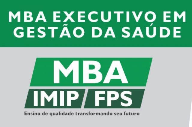 MBA Executivo em Gestão da Saúde IMIP/FPS - vagas remanescentes