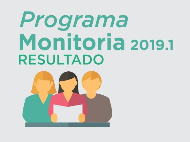 Programa de Monitoria 2019.1 - Resultado